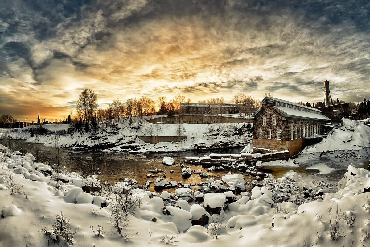 Hausbesitzer Schnee und Eis